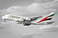 Black and white for Emirates